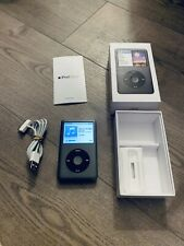 Apple iPod Classic 7th Generation Black (160GB) -  16 Hours Use From New Boxed