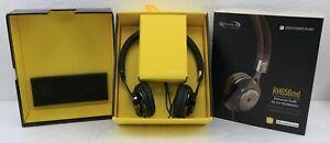 REALM Scosche RH656MD Black On-Ear Headphones w/ tapLINE Remote & Mic
