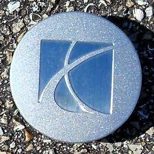 2006 -2007 Saturn Ion OEM Sparkle Silver Center Cap w/ Brushed Logo 9595010