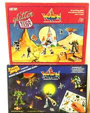 2 Rare 1984 Voltron Defender Of The Universe Presto Magix Stick & Lift Playboard