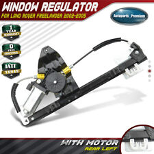 Power Window Regulator w/ Motor for 2002-2005 Land Rover Freelander Rear Left