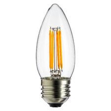 SUNLITE Antique Filament LED 4 Watt 1800K e26 base Chandelier Bulbs