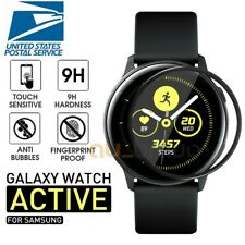 2X Full Coverage Soft Fiber Glass Samsung Galaxy Watch Active 2 Screen Protector