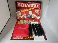 Scrabble Trickster Board Game By Mattel - Complete | Contents VG