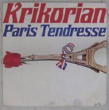 Tour Eiffel 45 tours Krikorian Paris tendresse