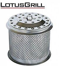 Lotus Grill Perforata Metallo Carbone Contenitore Per Ricambio Giappone Tracking