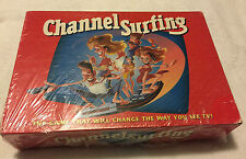 Vintage 1994 Milton Bradley CHANNEL SURFING Board Game -  Sealed