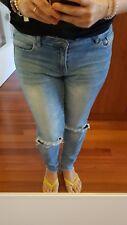 Vila vaquero original talla 40 L pants Jeans Hose pantaloni pantalon Blogger