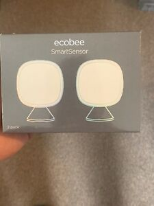 Ecobee SmartSensor Room Temp. , 2-Pack EB-RSHM2PK-01 New Will Sell Bulk Cheaper