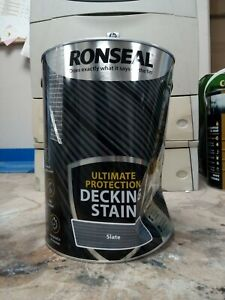 Ronseal Ultimate Protection Decking Stain Slate 5L