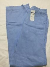 BNWT M&S Ladies Line Blend Wide Leg Trousers Size 8 Long
