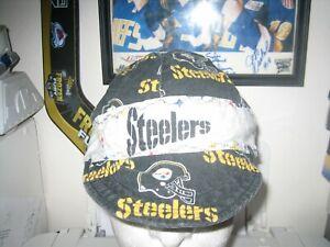 VINTAGE PITTSBURGH STEELERS PAINTER BICYCLE RAG HAT CAP ADULT NFL FOOTBALL VTG