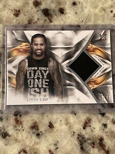 2019 Topps WWE Undisputed Jimmy Uso Shirt Relic 59/99 MINT!!! SP