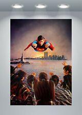 Póster de la película de Superman II Clásico impresión de arte A0 A1 A2 A3 A4 Maxi