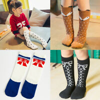 27 Cute Styles Cartoon Cat/Fox/Panda Children Kids Knee High Socks Leggings Girl