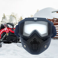 Winter Snow Sports Face Mask Shield Snowboard Snowmobile Goggles Glasses Outdoor