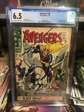 Avengers #48 - CGC 6.5 - Black knight - Marvel 1968