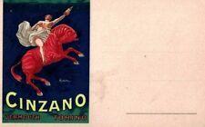 PUBBLICITARIA CINZANO Illustratore CAPPIELLO PC Circa 1920