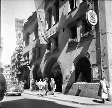 ALLEMAGNE c. 1955 - Auto Hofbräuhaus Munich - Négatif 6 x 6 - ALL 24