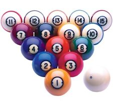 New Brunswick Centennial Pool Balls Set - 2 1/4 Inch Ball Set - FREE US Shipping