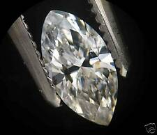 EGL-USA Certed 0.51ct MARQUISE cut Diamond F SI-2