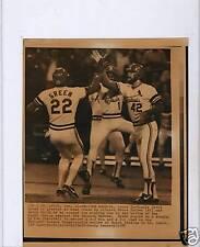 1982 Nlcs Game #2 Laserphoto St Louis Cardinals & Atlanta Braves