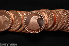 2013 (10) EAGLE WITH STARS 1OZ ROUND .999 COPPER PROOF LIKE FAST SHIP NEW DESIG
