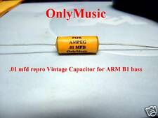 Compatible with  DAN ARMSTRONG AMPEG BASS  ARM-B1 .01 MFD CAPACITOR