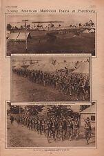 PLATTSBURG ARMY TRAINING CAMP, NEW YORK - 1916