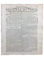 Haïti Révolte Esclave 1792 Douane Corse Lamballe Saint Jean d'Angely Révolution