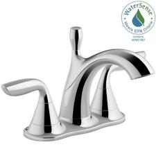 Kohler Williamette 4 in. Centerset 2-Handle 1.2 Gpm Bathroom Faucet with Pop-Up