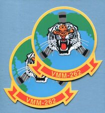 Decal Set VMM-262 FLYING TIGERS USMC Boeing MV-22 OSPREY Squadron Patch Image