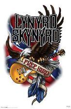 Lynyrd Skynyrd 24 x 36 poster Free Bird Classic Southern Rock music memorabilia