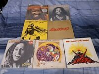 Bob Marley Vinyl LP Lot #1