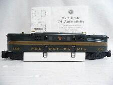 LIONEL 6-18314 Pennsylvania GG1 #2332 Century Club Loco W/Display NO BOX