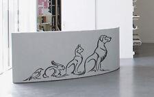 ik938 Wall Decal Sticker pets cat dog rabbit parrot veterinary clinic shelter