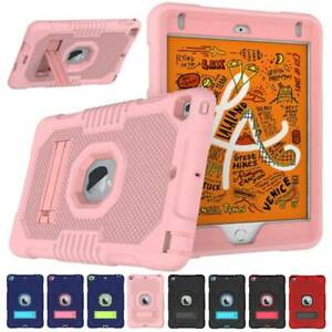 Shockproof Rubber Case Heavy Duty Hard Stand Cover for Apple iPad Mini 4 Mini 5