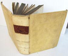 1696 1st ED, ANTIQUE VELLUM BOOK IDOLATRY BELIEF IN DEMONS MAGIC in HEBREW BIBLE