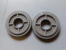 COPPIA di Flymo 5140770-00 distanziatori in alluminio