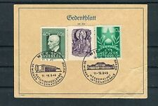 Austria Gedenkblatt SST 50. Wiener feria internacional-b2529