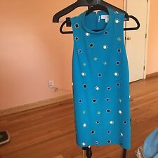 HOSS INTROPIA Turquoise  Dress NWT size 38 US4