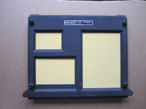 Premier 4-in-1 easel for holding printing paper under an enlarger in a darkroom