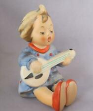 "M I Hummel Goebel Porcelain Figurine Joyful 3.75"" Germany Mold 53 Tmk 6"