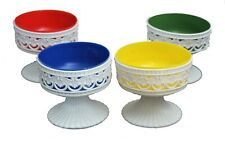 Plastic Posy Bowl with Coloured Liner