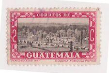 (GMA-76) 1937 Guatemala 2c black & red president UBLICO