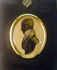More details for silhouettes a gentleman, of benson family facing left jeffreson (attrib)  1817