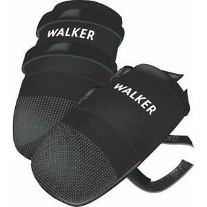 Trixie Walker Care Protective Dog Boots Paw Shoes, Polyester, Vinyl Sole - Large