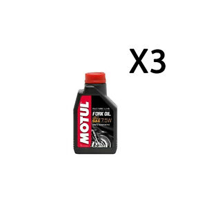 Gabelöl Factory Line Motul Fork Öl Light Medium SAE 7,5W Kunststoff 3 L