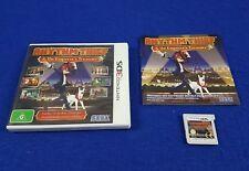 3DS RHYTHM THIEF & The Emperor's Treasure *x Puzzle Game Nintendo PAL AUS