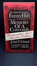 Memoirs of a Coxcomb: Cleland. Lancer. 1963. Sleaze/Adult/Sex. E-107